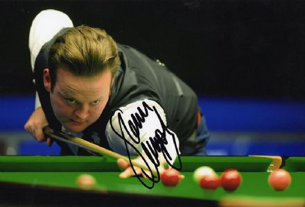 Shaun Murphy, signed 12x8 inch photo.